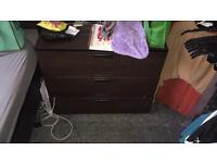 REDUSED!! Trysil Drawers and Bedside Table