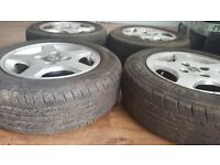 Peugeot Alloy Wheel with tyres