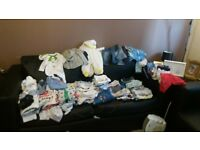 Huge selection of newborn, 0-3 and 3-6 months boys clothes