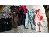 Bundle of girls' clothes 12-18, 18-24 months