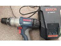 BOSCH GSB 18 VE-2 LI CORDLESS COMBI DRILL / SCREW DRIVER C/W 2 BATTERIES 18v 3.0Ah