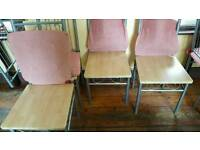 Cofe shop chair with cover