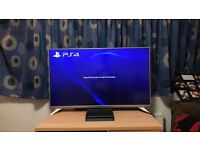 "LG 49"" led smart tv Full hd with PS4 slim"