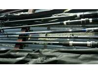 Carp fishing rods bran new