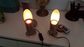 Colour Changing Uplighter Lamps
