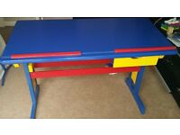 Child's Colourful Writing Desk