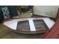 Dinghy 9ft by 4ft fibreglass