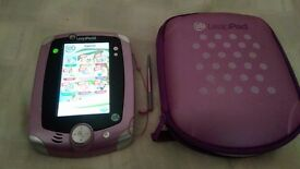 leappad 2, with 1 game and case