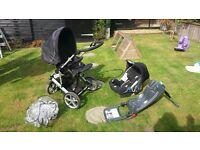 Britax Vigour Frame, Buggy, Car seat and Isofix