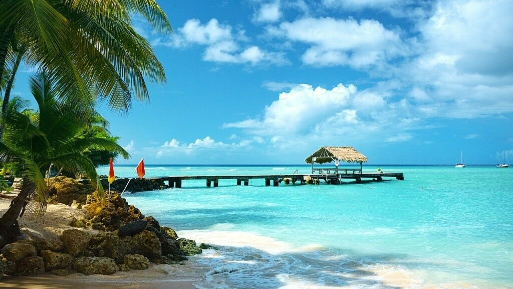 2 one way tickets to Tobago (Caribbean)