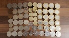 MAKE AN OFFER Rare Collectible Coins £2, £1, 50p, 20p, 10p, 2p, 1p Numismatics London Olympic Coin