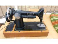 Vintage Singer Sewing Machine 201K