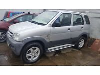 2005 55 DAIHATSU TERIOS TRACKER 1.3PETROL 4X4 FULL MOT AND WARRANTY