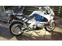 BMW K1200rs Silver & Blue in excelent condition