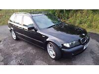 Bargain!! BMW 320D Diesel Touring Estate **55MPG**6 SPEED**MOTD