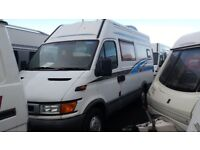 (34) 2000 IVECO DAILY (S2000) LWB HIGH ROOF CAMPER VAN MOTORHOME CONVERSION