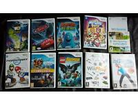 12 Wii Games Bundle with Accessories