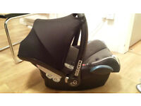 Maxi-Cosi Cabriofix Baby Infant Carrier Car Seat And Rocker, Penguin Fabric - With Manual