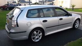 SAAB 9-3 VECTOR SPORT 1.9 TDI DIESEL. 2006 ESTATE, REDUCED REDUCED to only £1250
