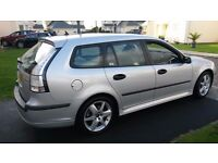 SAAB 9-3 VECTOR SPORT 1.9 TDI DIESEL. 2006 ESTATE, REDUCED REDUCED now £1450