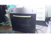 Gas hib electric oven