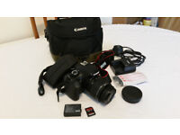 Canon EOS 1100D DSLR Digital Camera + heavy duty carry bag and strap