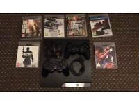 Sony PlayStation 3 Slim 160 GB+ games