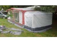 Dorema Caravan Awning, size 5, with annexe