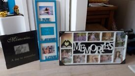 Selection of photo frames for sale - 2 brand new and still in packaging