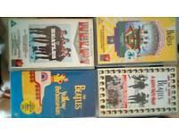 Beatles movies VHS