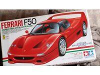 Tamiya 1/12th Scale Ferrari F50 - Die-Cast Metal -Factory built - Collectors Club