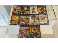 10 PS2 GAME'S (LOT 1)