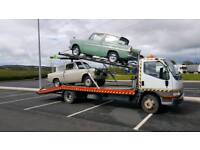 Breakdown recovery and transport service.