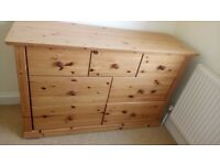 Tresko Solid Pine Drawers