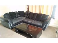 CORNER SOFA BED COFFEE TABLE DFS 3yr guarantee. ONLY 500GBP