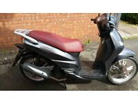 PEUGEOT TWEET 125cc TWIST AND GO 16 PLATE