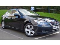 Lovely BMW 525 Diesel Auto Leather High Spec FSH 50 Plus MPG Drives Great