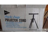 Boots Pack Away Projector Stand