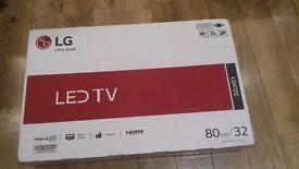 "LG LED 32"" tv brand new in box"