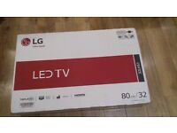 "LG LED 32"" tv brand new in box"