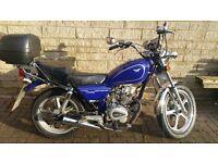 2012 Huoniao HN Superbyke 125-8 for sale - Brand new MOT