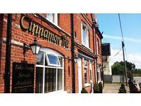 Full time/Part time - Bar tender - Cinnamon Tree - Mortimer, Reading