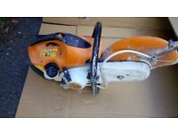 Stihl TS410 concrete cutting saw