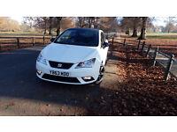 SEAT IBIZA TOCA WHITE 2014, SAT NAV, 1.4 Petrol, Tinted Windows, Black alloys