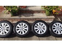 VW Golf Alloy Wheels Genuine VW.