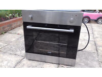 Electric Fan Oven: Ignis AKL905, Integrated, VGC: can deliver