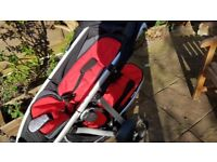 Phil and Ted's double buggy with extras