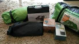 Tent and camping stuff