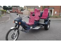 VW 1600 motorcycle trike