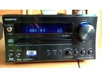 Onkyo CR - 715 DAB CD Micro System - Black